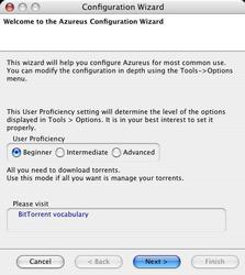 Azureus pour Mac