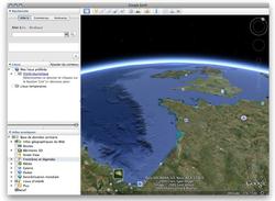 Google Earth pour Mac