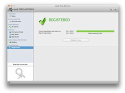 avast! Antivirus Gratuit pour Mac