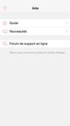 Adobe Reader pour iOS