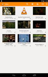 VLC pour Android liste des vidéos