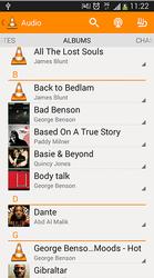 VLC pour Android liste des Audios