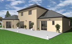 Architecte 3D rendu de maison