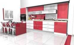 Architecte 3D Rendu de cuisine