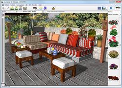Architecte 3D Ajout d'objets pour l'extérieur